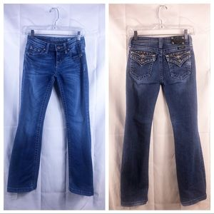 Miss me jeans in a size 14. Preowned: